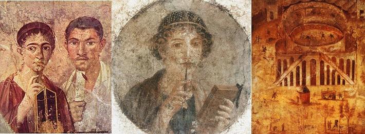 Art érotique à Pompéi et Herculanum